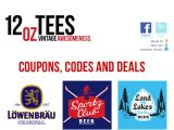 12oztees.com Coupons