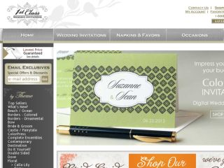 Shop at 1st-class-wedding-invitations.com