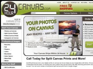 Shop at 24hourcanvas.com