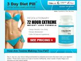 3daydietpill.com Coupon Codes
