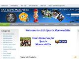 Aaasportsmemorabilia.com Coupons