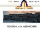 Aaronscitytrains.com Coupons