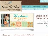 Browse Above All Fabric