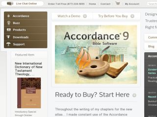 Shop at accordancebible.com