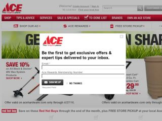 Shop at acehardware.com