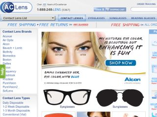 Shop at aclens.com