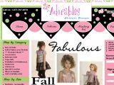Browse Adorables Children's Boutique