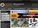Browse Airsoft Megastore