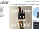 Browse Albam Clothing