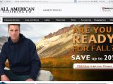 Browse All American Clothing Co