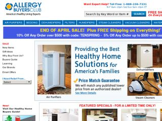Shop at allergybuyersclub.com