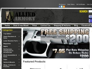 Shop at alliedarmory.com