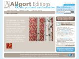 Browse Allport Editions