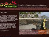 Browse Aloha Island Lei