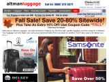 Browse Altman Luggage Co