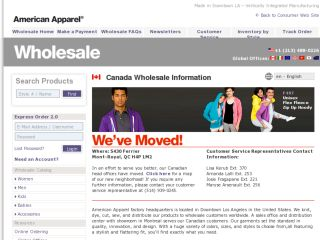 Shop at americanapparel.ca