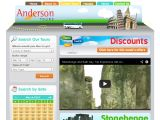 Andersontours.co.uk Coupon Codes