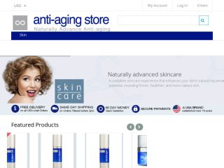 Shop at anti-agingstore.com