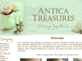 Shop at anticatreasures.com