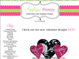 Browse Applique Frenzy