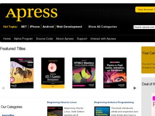 Shop at apress.com