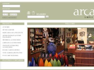 Shop at arcadianyc.com