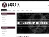Browse Arkaik Clothing