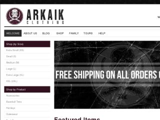 Shop at arkaikclothing.com