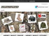 Browse Army Navy Shop