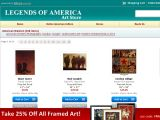 Artstore.legendsofamerica.com Coupon Codes