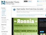 Browse Ascender Fonts