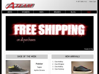 Shop at ateamshoeshop.com