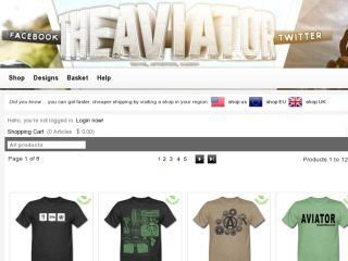 Shop at aviator.spreadshirt.com