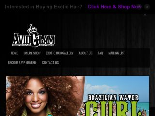 Shop at avidglamhair.com