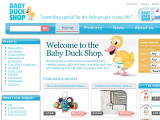 Shop at babyduckshop.co.uk