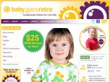 Browse Baby Goes Retro