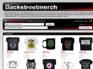 Shop at backstreet-merch.com