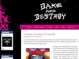 Bakeanddestroy.net Coupon Codes