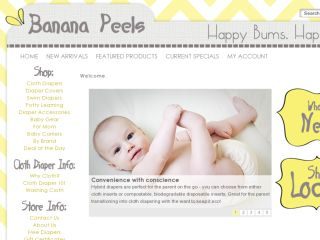 Shop at bananapeelsdiapers.com