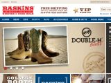 Browse Baskins Western & Work Wear