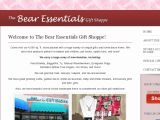 Browse Bear Essentials Gift Shoppe