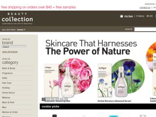 Shop at beautycollection.com