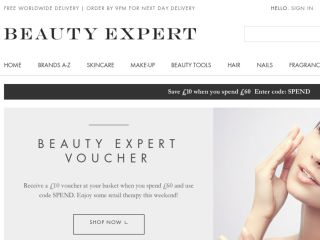 Shop at beautyexpert.co.uk