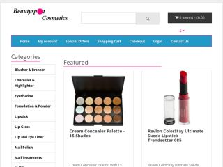 Shop at beautyspotcosmetics.co.uk