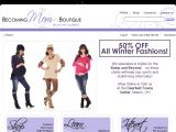 Browse Becoming Mom Boutique