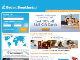 Shop at bedandbreakfast.com
