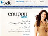Belk.com Coupon Codes