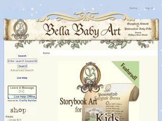 Shop at bellababyart.com