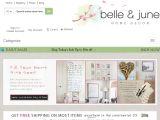 Belleandjune.com Coupon Codes