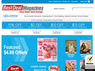 Shop at bestdealmagazines.com